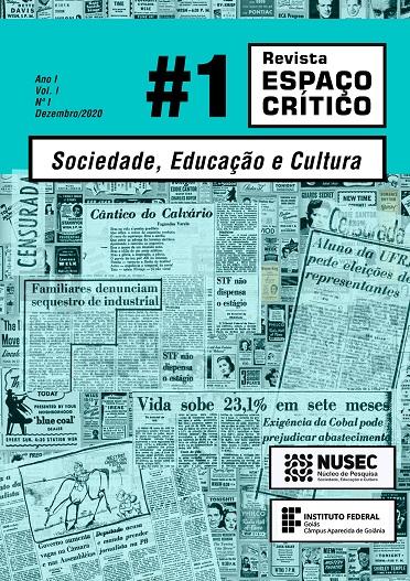 Revista Espaço Crítico, Volume 01, Número 01, Dezembro-2020